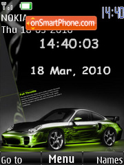 Porsche With Tone es el tema de pantalla