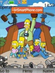 The Simpsons 09 theme screenshot
