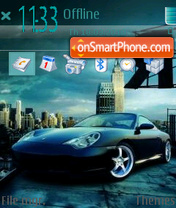 Porsche carrera 911 es el tema de pantalla