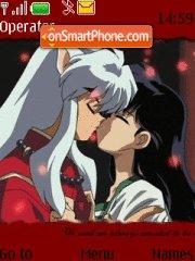 Inuyasha theme screenshot