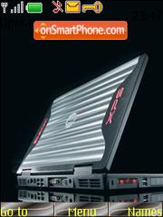 Capture d'écran Black Laptop thème