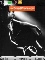 Michael Jackson SWF Clock es el tema de pantalla