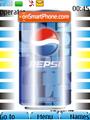 Pepsi Battery Updater Beta theme screenshot
