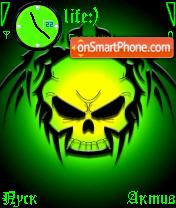 Skull es el tema de pantalla