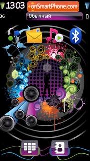 Abstract Music 02 es el tema de pantalla