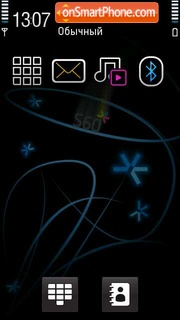 Symbian3 theme screenshot