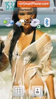 Megan Fox 12 theme screenshot