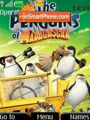 Madagascar Penguins es el tema de pantalla