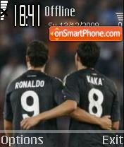Ronaldo Kaka es el tema de pantalla
