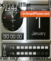 Smartphone 01 es el tema de pantalla