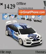 Focus rs wrc es el tema de pantalla
