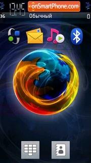 Fire Fox 04 tema screenshot