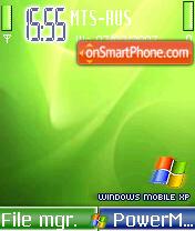 Windows Mobile XP Green theme screenshot