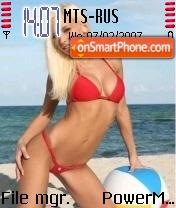 Beach1 theme screenshot