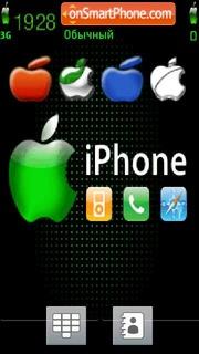 Iphone 08 theme screenshot