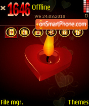 Hellow love fp1 es el tema de pantalla