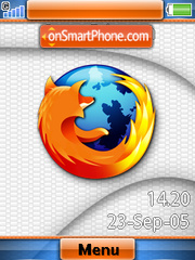Mozilla Firefox+Mmedia theme screenshot