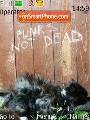 Punk's Not Dead theme screenshot