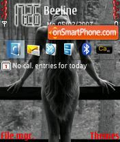Gray Love theme screenshot
