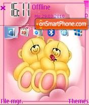 Forever Love 01 theme screenshot