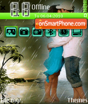 On the rain es el tema de pantalla