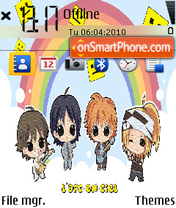 L'Arc en Ciel Chibi theme screenshot