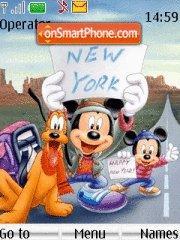 Mickey And Friends 01 theme screenshot