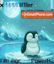 Cute Penguin 02 es el tema de pantalla