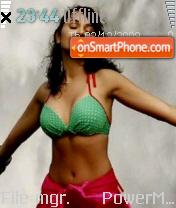 Priyanka Hot theme screenshot