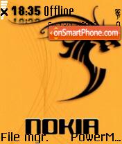Tribal Nokia 01 theme screenshot