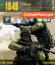 Counter strike 14 theme screenshot