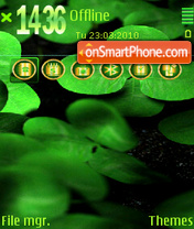 Green world fp1 es el tema de pantalla