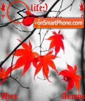 Leaves es el tema de pantalla