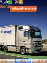 European Trucks es el tema de pantalla