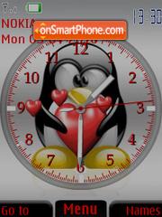 Tux Clock theme screenshot