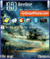 Sundown theme screenshot