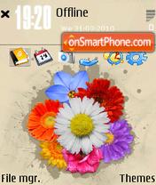 Flower chaos es el tema de pantalla
