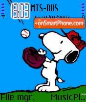 Snoopy 01 theme screenshot