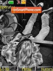 Kurt Cobain tema screenshot