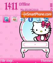Pinky Kitty FP2 es el tema de pantalla