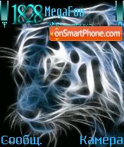 Animated Leopard lion es el tema de pantalla