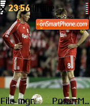 Steven Gerrard 01 es el tema de pantalla