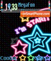 I,m star!! es el tema de pantalla