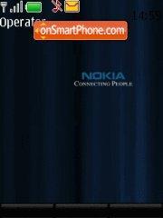 Nokia Connecting people 02 es el tema de pantalla