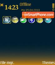 Indigo 01 es el tema de pantalla