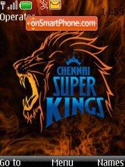 Chennai Super Kings theme screenshot