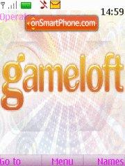 Gameloft theme screenshot
