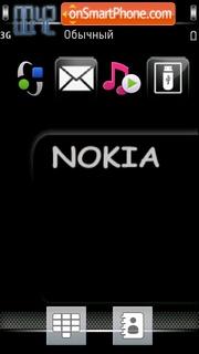 Dark Nokia es el tema de pantalla