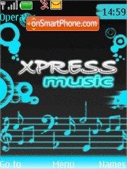 Xpress Music 5611 theme screenshot