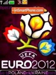 Euro 2012 02 theme screenshot
